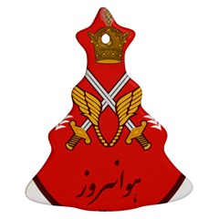 Seal Of The Imperial Iranian Army Aviation  Christmas Tree Ornament (two Sides)