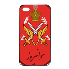 Seal Of The Imperial Iranian Army Aviation  Apple Iphone 4/4s Seamless Case (black)