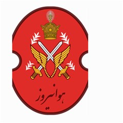 Seal Of The Imperial Iranian Army Aviation  Large Garden Flag (two Sides)