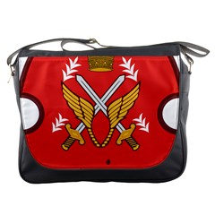 Seal Of The Imperial Iranian Army Aviation  Messenger Bags