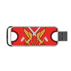 Seal Of The Imperial Iranian Army Aviation  Portable Usb Flash (two Sides)