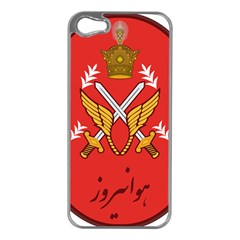 Seal Of The Imperial Iranian Army Aviation  Apple Iphone 5 Case (silver)