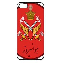 Seal Of The Imperial Iranian Army Aviation  Apple Iphone 5 Seamless Case (black)