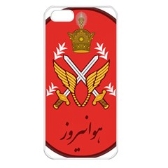Seal Of The Imperial Iranian Army Aviation  Apple Iphone 5 Seamless Case (white)
