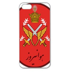 Seal Of The Imperial Iranian Army Aviation  Apple Seamless Iphone 5 Case (clear)