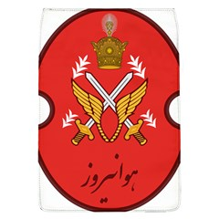 Seal Of The Imperial Iranian Army Aviation  Flap Covers (l)