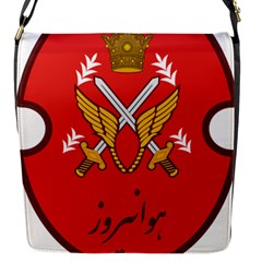 Seal Of The Imperial Iranian Army Aviation  Flap Messenger Bag (s)