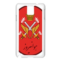 Seal Of The Imperial Iranian Army Aviation  Samsung Galaxy Note 3 N9005 Case (white)