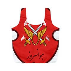 Seal Of The Imperial Iranian Army Aviation  Full Print Recycle Bags (m)