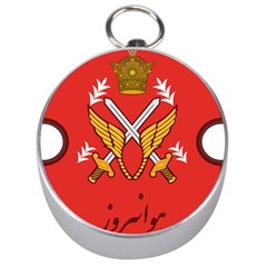 Seal Of The Imperial Iranian Army Aviation  Silver Compasses