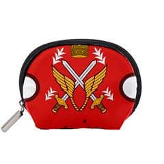 Seal Of The Imperial Iranian Army Aviation  Accessory Pouches (small)
