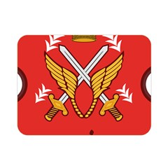 Seal Of The Imperial Iranian Army Aviation  Double Sided Flano Blanket (mini)