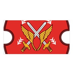 Seal Of The Imperial Iranian Army Aviation  Satin Shawl