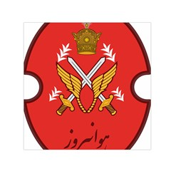 Seal Of The Imperial Iranian Army Aviation  Small Satin Scarf (square)