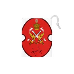 Seal Of The Imperial Iranian Army Aviation  Drawstring Pouches (xs)