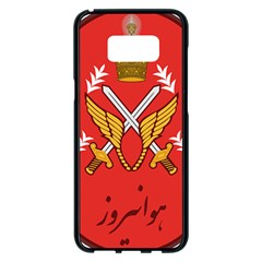 Seal Of The Imperial Iranian Army Aviation  Samsung Galaxy S8 Plus Black Seamless Case