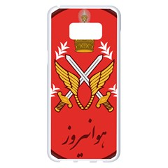 Seal Of The Imperial Iranian Army Aviation  Samsung Galaxy S8 Plus White Seamless Case