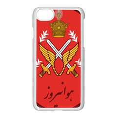 Seal Of The Imperial Iranian Army Aviation  Apple Iphone 8 Seamless Case (white)