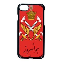 Seal Of The Imperial Iranian Army Aviation  Apple Iphone 8 Seamless Case (black)