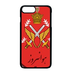 Seal Of The Imperial Iranian Army Aviation  Apple Iphone 8 Plus Seamless Case (black)