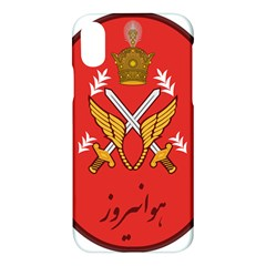Seal Of The Imperial Iranian Army Aviation  Apple Iphone X Hardshell Case