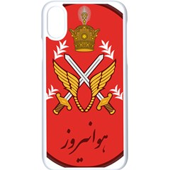 Seal Of The Imperial Iranian Army Aviation  Apple Iphone X Seamless Case (white)