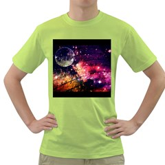 Letter From Outer Space Green T Shirt
