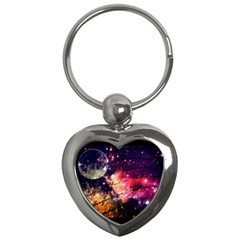 Letter From Outer Space Key Chains (heart)