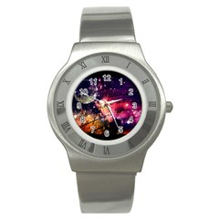 Letter From Outer Space Stainless Steel Watch