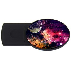 Letter From Outer Space Usb Flash Drive Oval (4 Gb)
