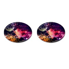 Letter From Outer Space Cufflinks (oval)