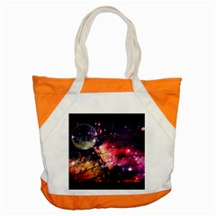 Letter From Outer Space Accent Tote Bag