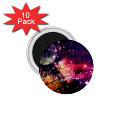 Letter From Outer Space 1 75  Magnets (10 Pack)