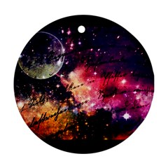 Letter From Outer Space Ornament (round)