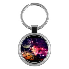 Letter From Outer Space Key Chains (round)