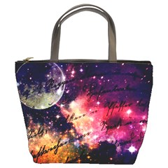 Letter From Outer Space Bucket Bags