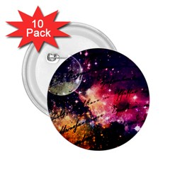 Letter From Outer Space 2 25  Buttons (10 Pack)