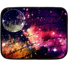 Letter From Outer Space Double Sided Fleece Blanket (mini)
