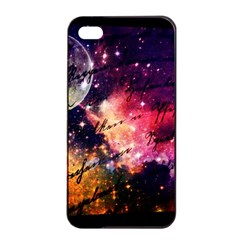 Letter From Outer Space Apple Iphone 4/4s Seamless Case (black)
