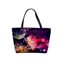 Letter From Outer Space Shoulder Handbags