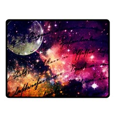 Letter From Outer Space Fleece Blanket (small)