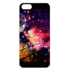 Letter From Outer Space Apple Iphone 5 Seamless Case (white)