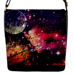 Letter From Outer Space Flap Messenger Bag (s)