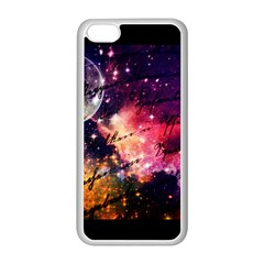 Letter From Outer Space Apple Iphone 5c Seamless Case (white)