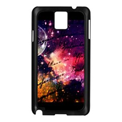 Letter From Outer Space Samsung Galaxy Note 3 N9005 Case (black)