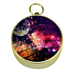 Letter From Outer Space Gold Compasses