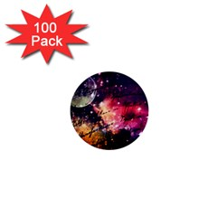 Letter From Outer Space 1  Mini Buttons (100 Pack)
