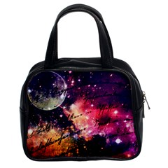 Letter From Outer Space Classic Handbags (2 Sides)