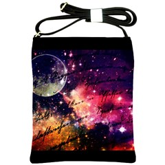 Letter From Outer Space Shoulder Sling Bags