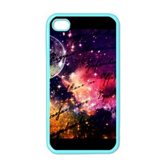 Letter From Outer Space Apple Iphone 4 Case (color)
